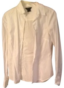 Moda International Button Down Shirt White