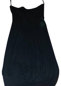 Passport short dress Black on Tradesy