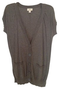 Ann Taylor LOFT Boyfriend Sweater Leggings Long Shortsleeve Cardigan