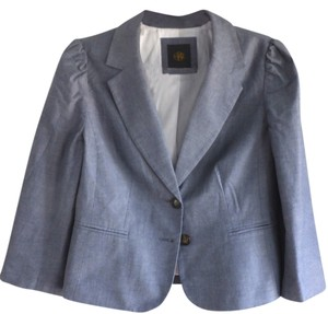 The Limited Chambray Blue Blazer