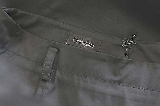 CONTROVENTO Pencil Skirt BLACK