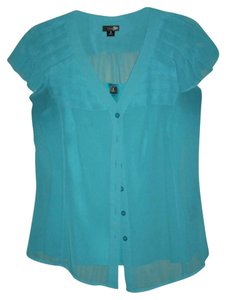 East 5th Essentials Top Teal