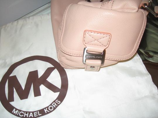 Michael Kors Leather Silver Hardware Shoulder Bag