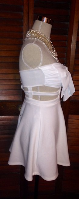Loving things short dress White on Tradesy