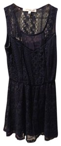 Rewind short dress Navy Blue on Tradesy