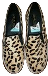 Kenneth Cole Pony Hair Leopard print Flats