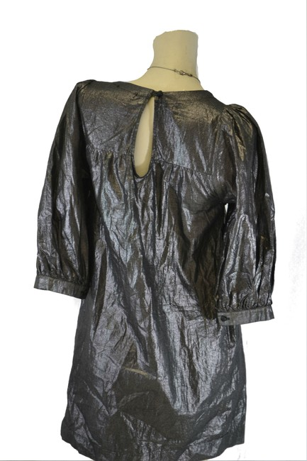 Romeo & Juliet Couture Top Metallic
