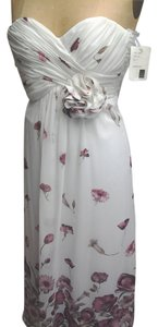 Dessy Junior Bridesmaid Strapless Full Length Dress