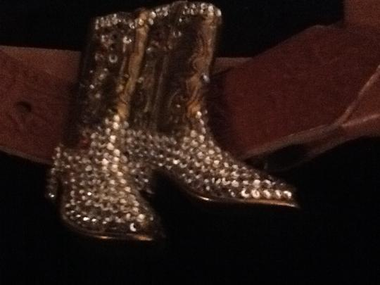 Other Leather Rhinestone Cowboy boots buckle
