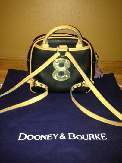 Dooney & Bourke Black and muli color Beach Bag