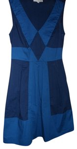 Be Bop short dress blue Summer on Tradesy