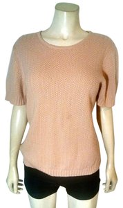Saks Fifth Avenue Ave Cashmere Size X-large P1818 Top pink