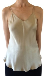 episode Camisole Silk Top Gold
