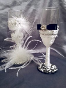 Wedding Wine Flutes