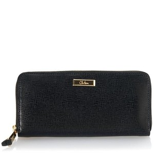 Cole Haan Cole Haan Travel Continental Zip Around Wallet - Black