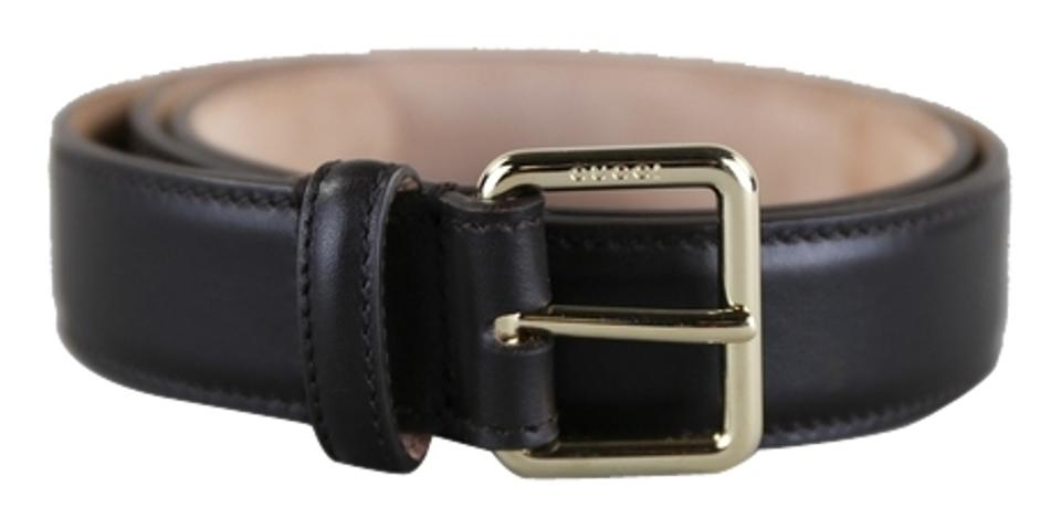 3a25dd73739 Gucci   Gucci Brown Leather Belt w  Square Buckle Image 0 ...