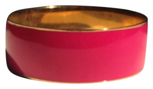 J. Crew JCrew Pink And Gold Bangle