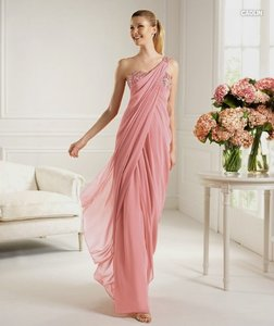 Pronovias Blush Pink Caolin Dress