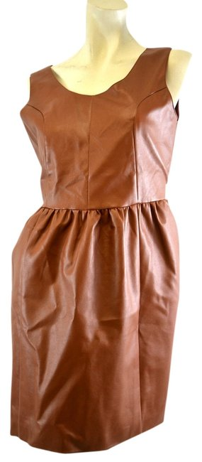 Freeway short dress Brown on Tradesy