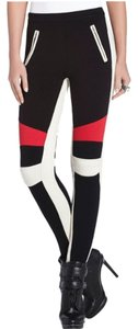 BCBGMAXAZRIA Skinny Pants Black,Red, Beige