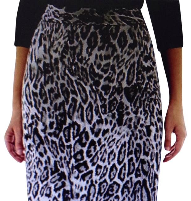 Worthington Skirt Gray/Black/White