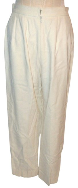hot sale Anne Klein Off With Zipper & Buckle Closure Size 10 Pants
