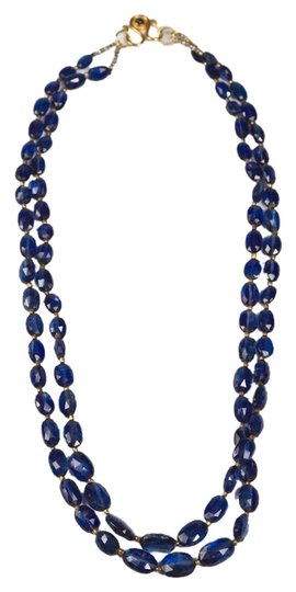 Preload https://img-static.tradesy.com/item/835189/blues-kyanite-2-strand-necklace-18kt-yg-sapphire-clasp-0-0-540-540.jpg
