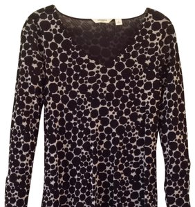 Liz Claiborne Top Black/White