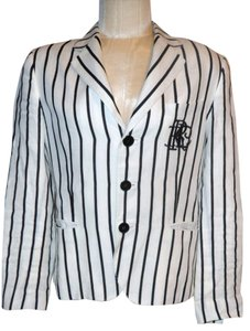 Ralph Lauren Black, White Blazer