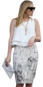 Zara Skirt White