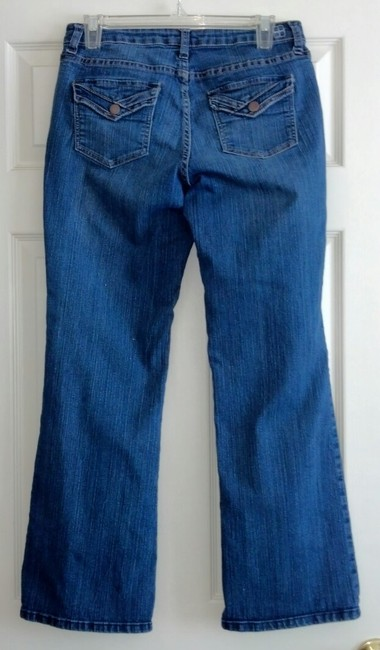 Salt Works Boot Cut Jeans-Medium Wash