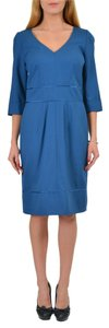 Hugo Boss short dress Saphire Blue on Tradesy