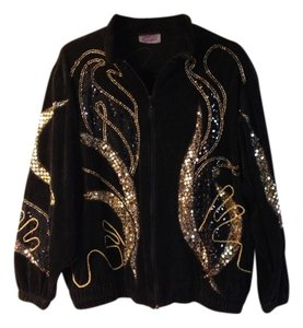 southern stitches Black Gold Jacket