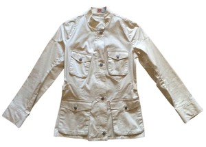 Max Studio Max Jeans Safari Military Jacket