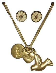 Target 'Dove, Hope, Love' charm necklace and earring set