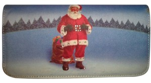 Santa Clause Genuine Leather Santa Clause Wallet
