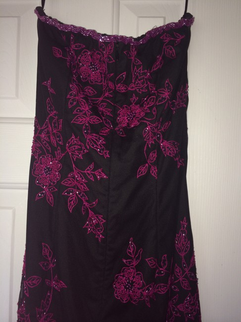 Cache Gown Lace Pink Dress