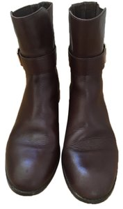 WYTHE Ankle Buckle CHOCOLATE BROWN Boots