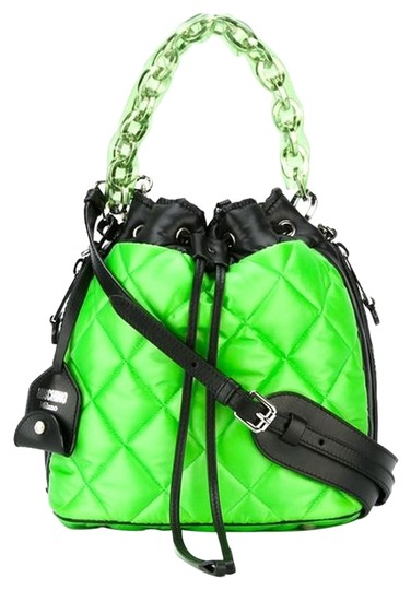 Preload https://img-static.tradesy.com/item/8358799/moschino-quilted-green-nylon-tote-0-1-540-540.jpg
