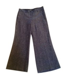 The Limited Wide Leg Pants Tweed with a touch of sparkle