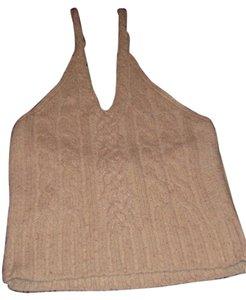 J.Crew Natural Halter Top