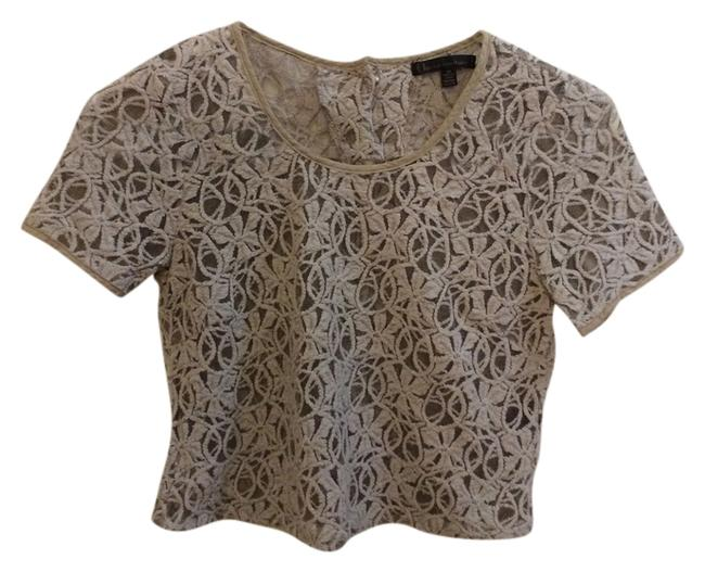 Lucca Couture Top beige