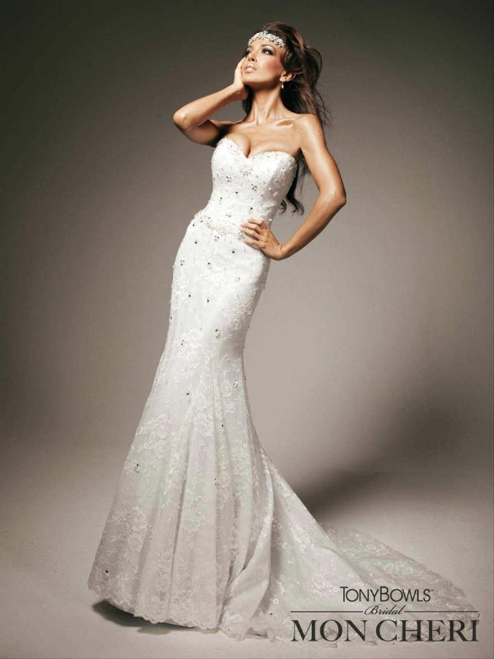 Tony Bowls Wedding Dress Tradesy Weddings