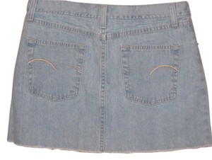American Eagle Outfitters Mini Skirt Faded denim