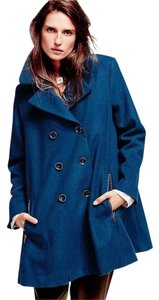 Free People Zip To My Lou Size Small Oversized Wool Swing Jacket Coat