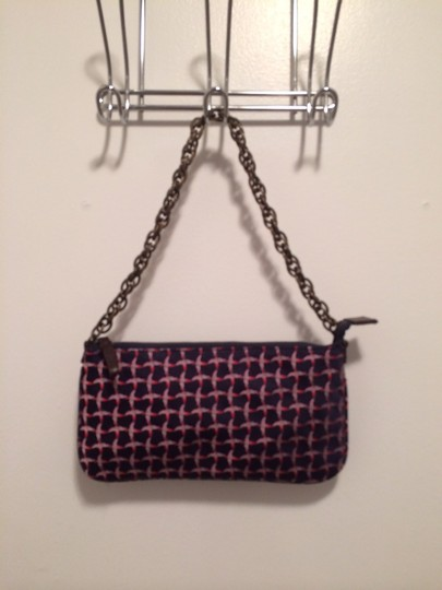 J. Crew Tote in Pink Blue