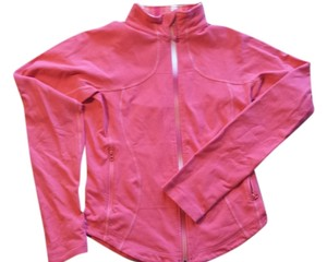 Lululemon Lululemon Coral Pink Forme Jacket, Multicolor Zipper