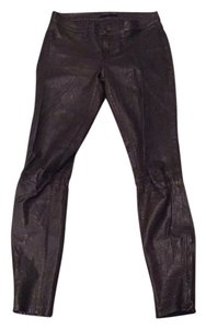 J Brand Skinny Pants Black leather