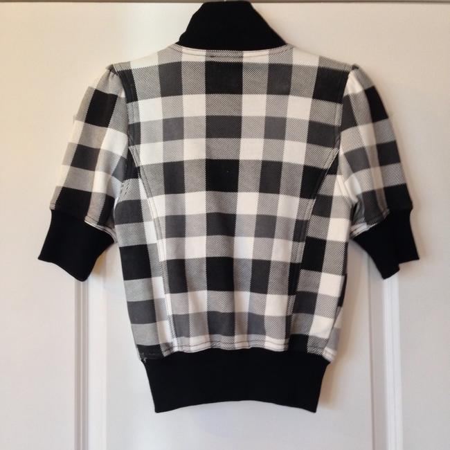 Forever 21 Black & White Checker Jacket