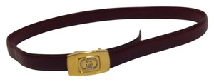 Gucci Gucci Vintage Slim Buckle Belt